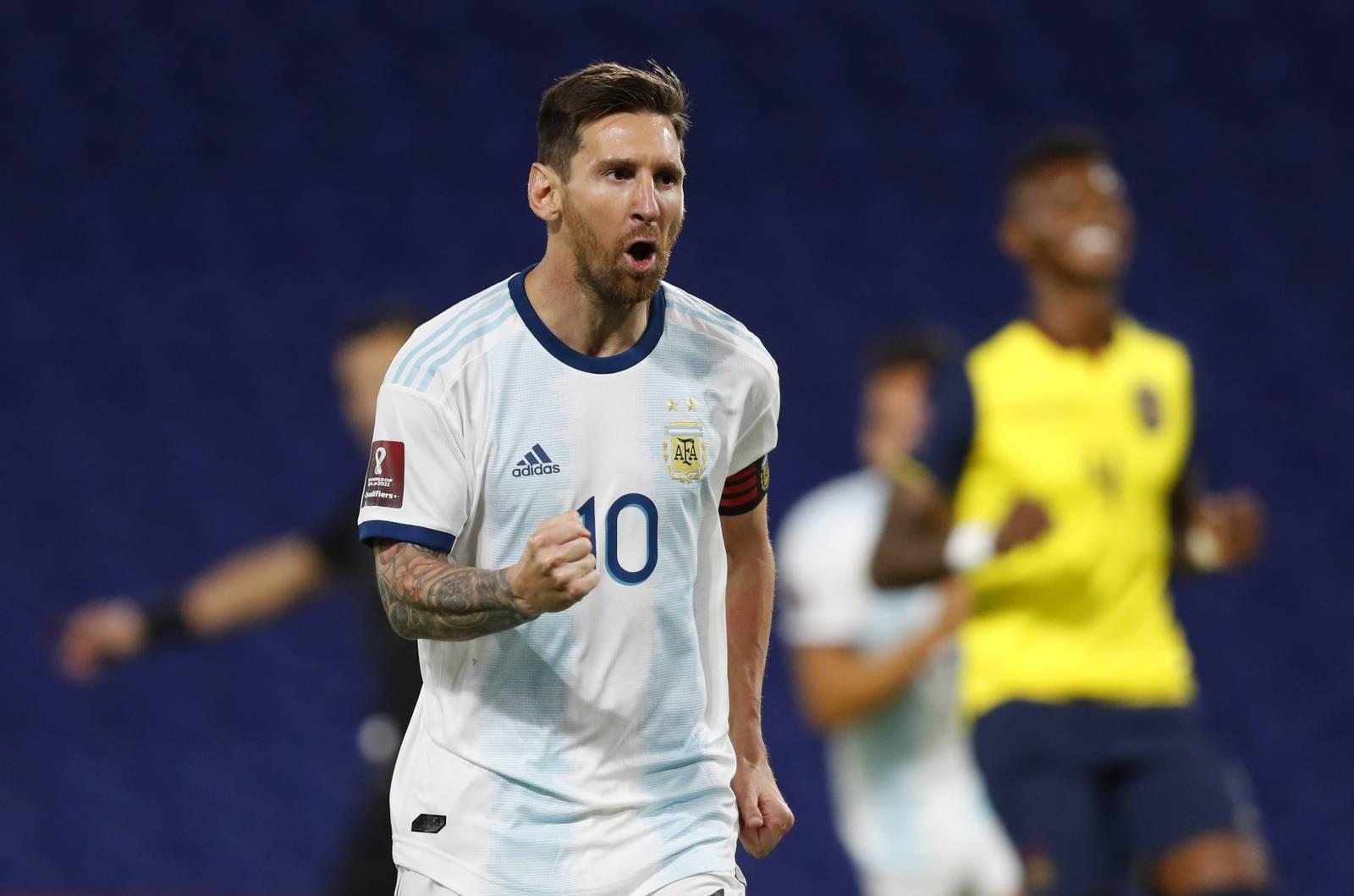 World Cup 2022 South American Qualifiers - Argentina v Ecuador