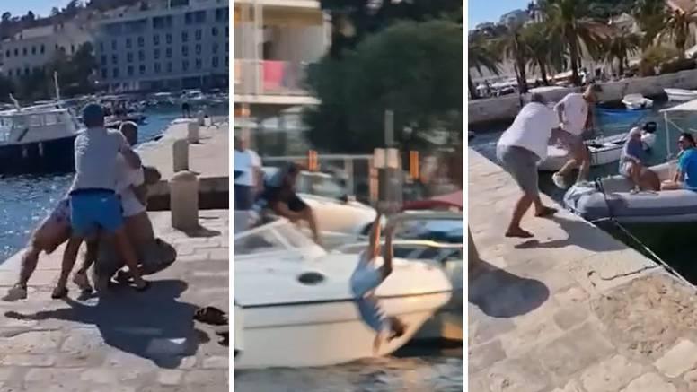 Iznajmljivači brodica na Hvaru se potukli, kradu jedni drugima turiste: 'Ne'š mi uzeti goste...!'