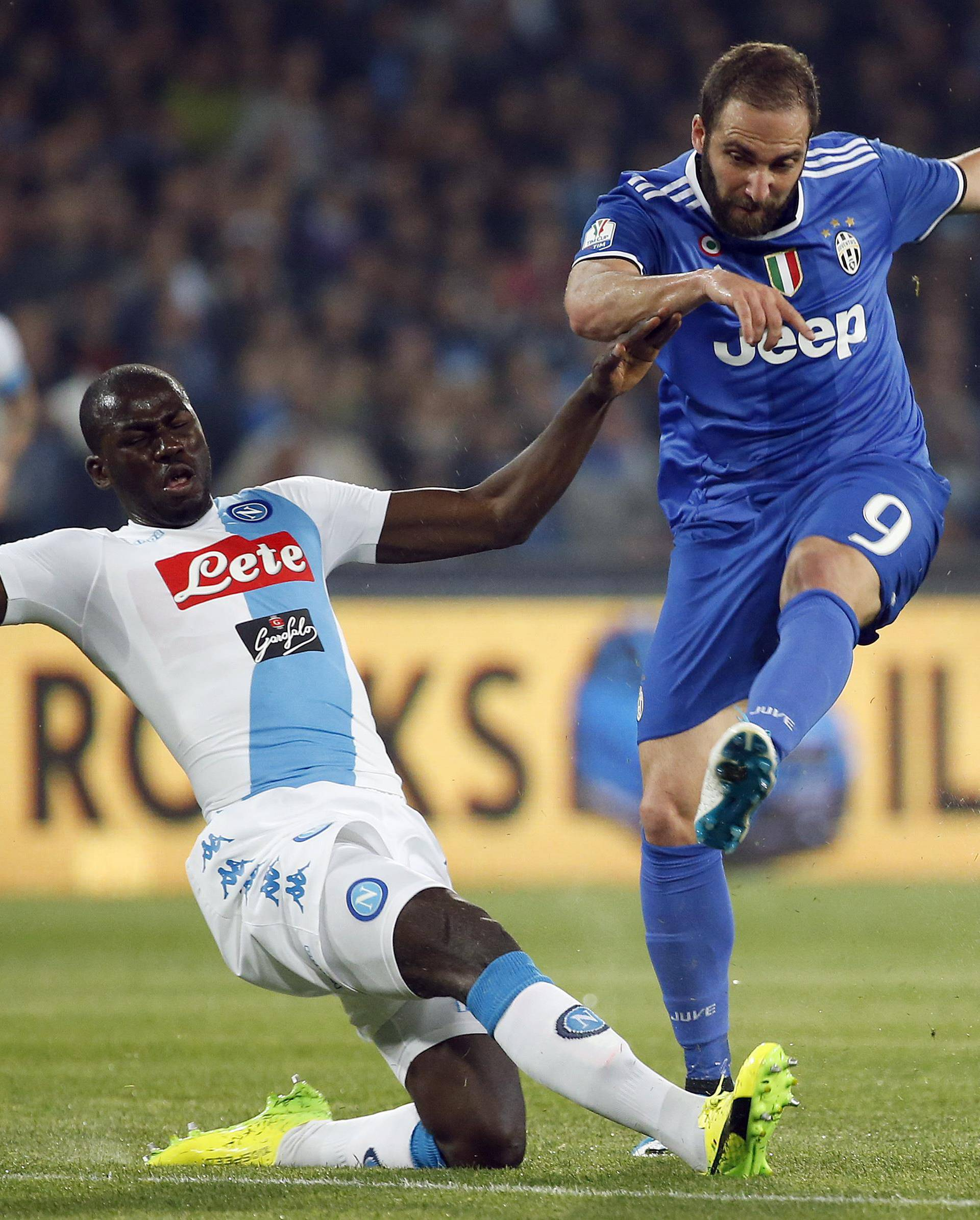 Football Soccer - Napoli v Juventus - Italian Cup