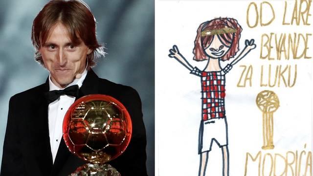 Luka, zovem se Lara, imam 6 godina i za tebe imam crtež...
