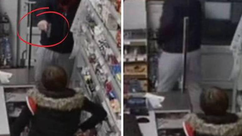 VIDEO Pištolj kojim je zaprijetio ženi u Slavoniji bio je plastični. Zato će dobiti manju kaznu