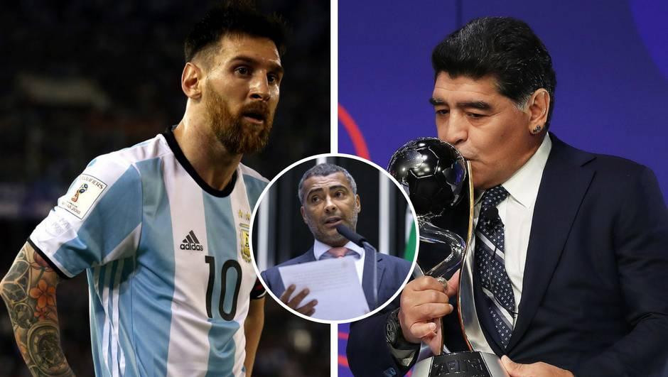 'Messi nije ni blizu Maradoni, ja sam bio puno bolji od obojice'