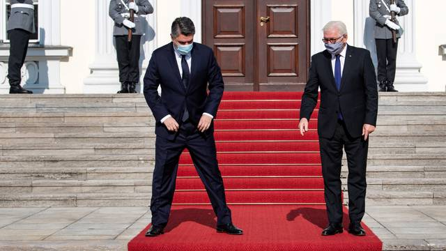 Federal President receives Croatian President