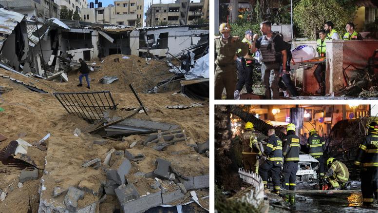 Nastavlja se raketiranje, umrlo 69 ljudi, od toga i 17-ero djece: Srušili i zgradu od šest katova