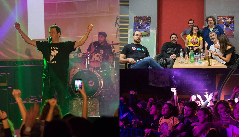 Vitasović je studenticu pozvao na stage pa su skupa zapjevali