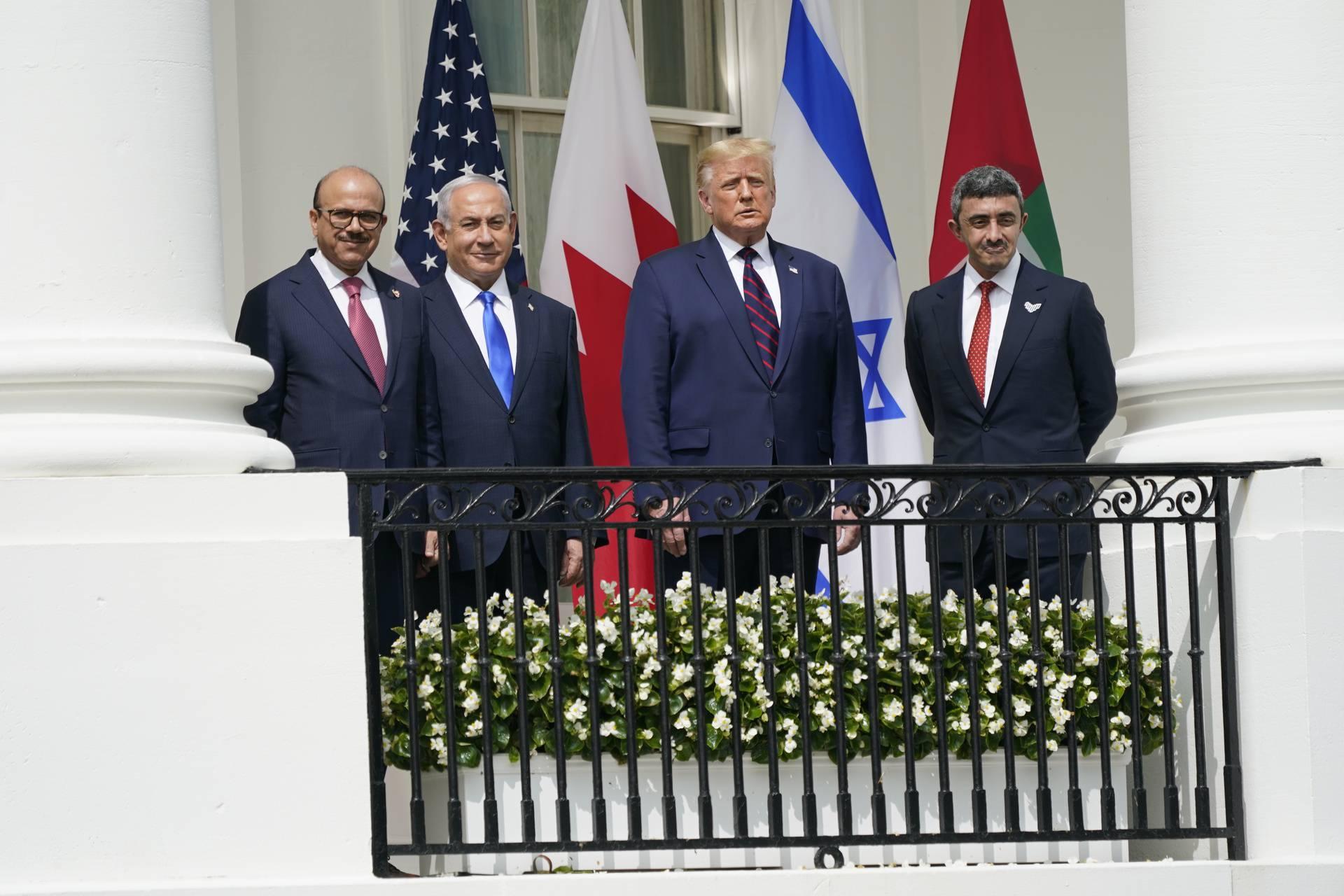 Trump Welcomes Prime Minister Benjamin Netanyahu of Israel