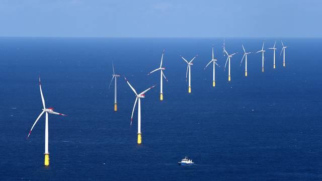 Offshore wind farm DanTysk