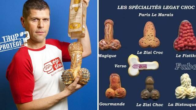 Ova pekarnica prodaje peciva u obliku penisa u gay četvrti u Parizu - posao im je procvjetao