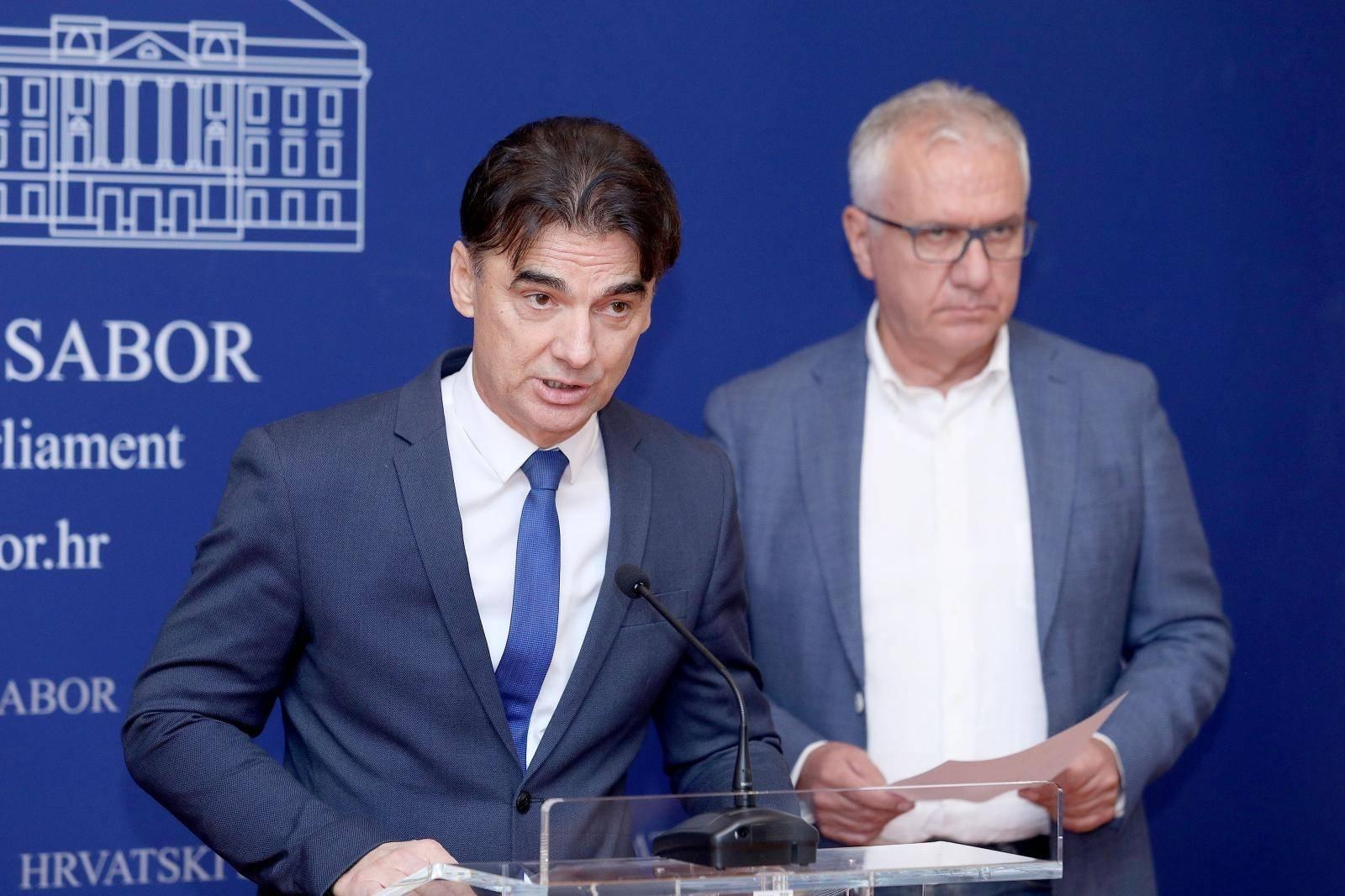 Zagreb: Konferencija za medije SDP-a o Å¡trajku u osnovnim i srednjim Å¡kolama