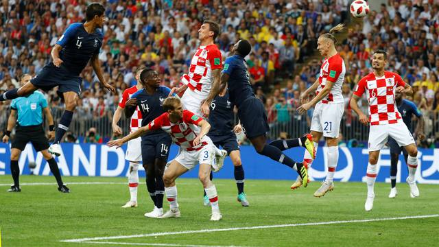 World Cup - Final - France v Croatia