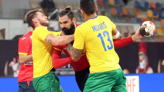 2021 IHF Handball World Championship - Preliminary Round Group B - Spain v Brazil