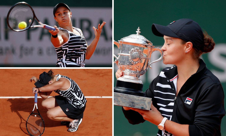 Trenirala je kriket, odustala pa lakoćom osvojila Roland Garros