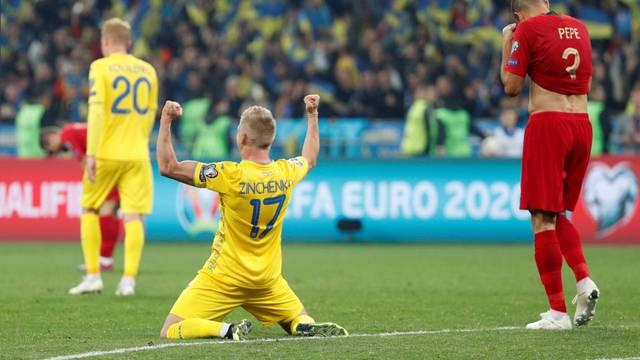 Euro 2020 Qualifier - Group B - Ukraine v Portugal