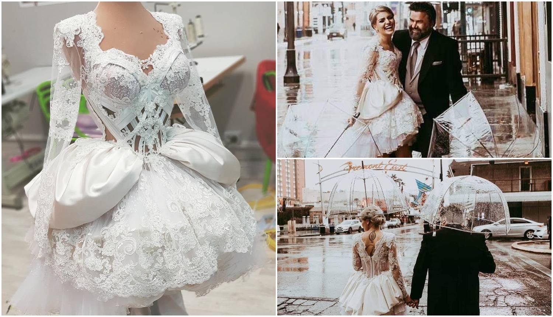Šivana baš za nju: Ella Dvornik udala se u Zigmanovoj haljini