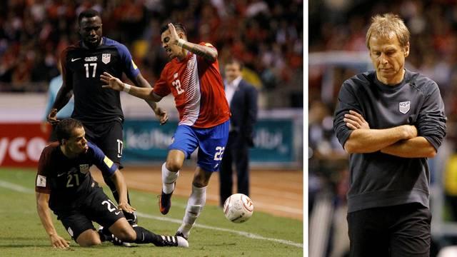 SAD još ne zna za pobjedu, Klinsmana razbila Kostarika
