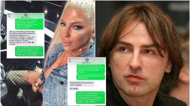 Karleuša tuži šefa TV Pinka: 'Odj*** kamere s groba majke'