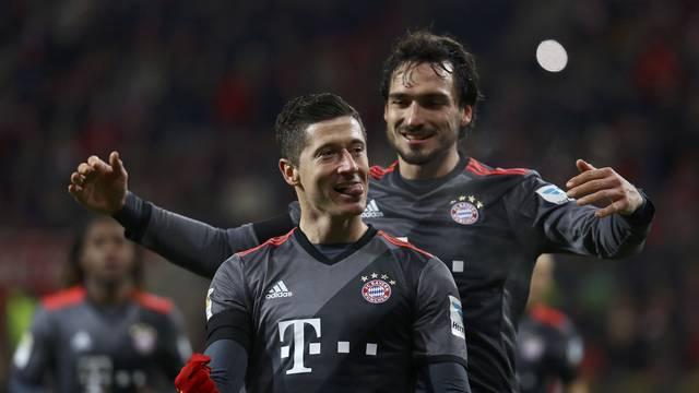 Football Soccer - FSV Mainz 05 v Bayern Munich