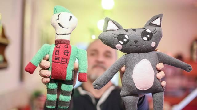 Dalibor (50) iz Zagreba: Naučio sam šivati i sada dječje crteže pretvaram u prave igračke