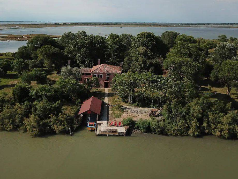 Privatni otok u blizini Venecije možete iznajmiti na Airbnb-u