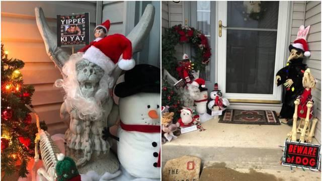 Njene božićne dekoracije živciraju susjede - no zato ih ona samo još više stavlja