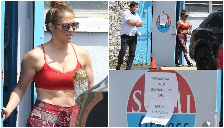 Za J.Lo otvorili teretanu: 'A mi smo svi doma, ovo je sramota!'
