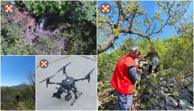 HGSS na dron stavio megafon i tako je pronašao nestalu ženu