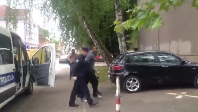 Divljački dvojac policija privela na sud u Slavonskom Brodu