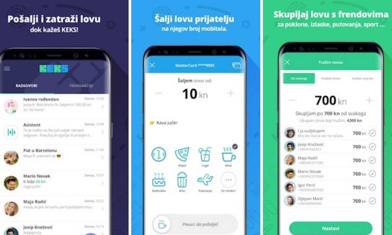 Keks Pay je aplikacija koja želi olakšati slanje i primanje novca