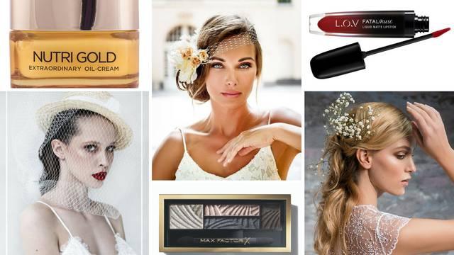 Trikovi profesionalaca za lijepu vjenčanu frizuru i make-up...