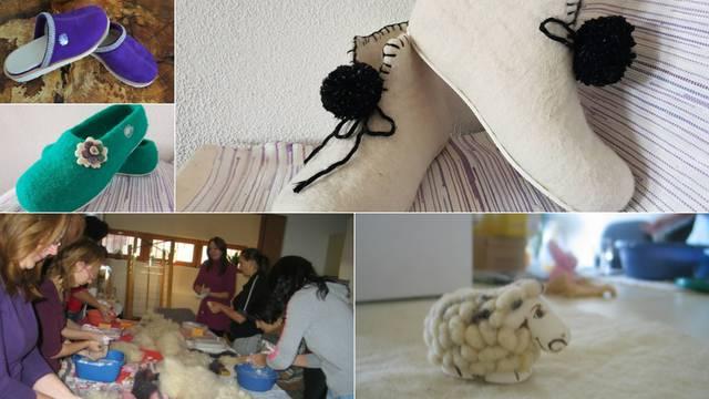 Made in Gračac: 'Moje sretne ovčice' prave su hit papučice