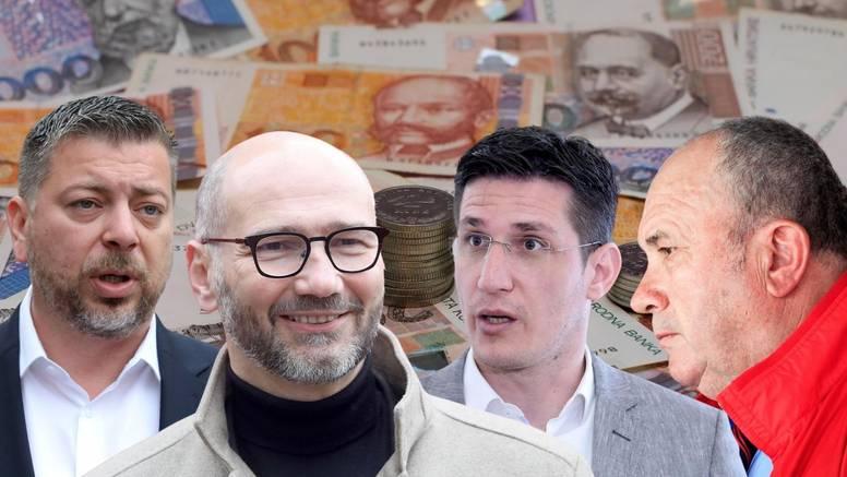 U Zagrebu je najviše potrošio Klisović, a Troskot i Ostrogović  12 kuna? Kerum bez donacija