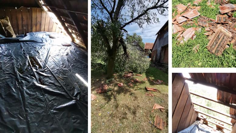 Građani u strahu: 'Više štete nam je napravilo nevrijeme nego potres. Što nas još čeka?!'
