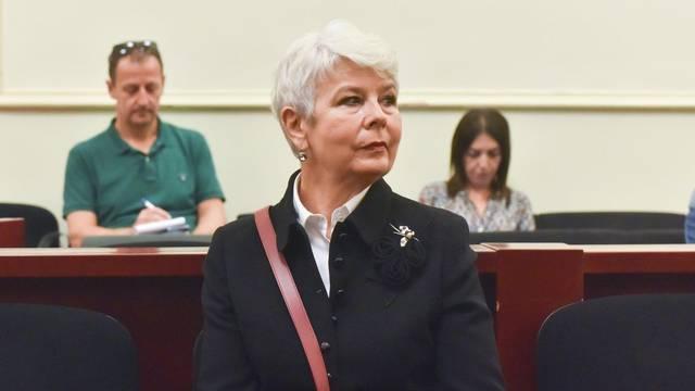Zagreb: Jadranka Kosor svjedočila u slučaju Sanader