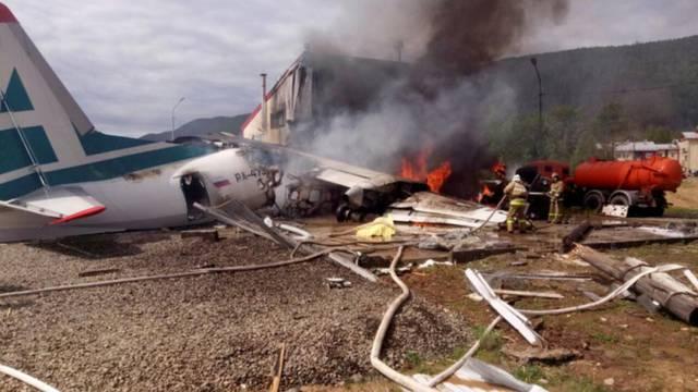 Dvoje mrtvih i više ozlijeđenih u slijetanju ruskog zrakoplova