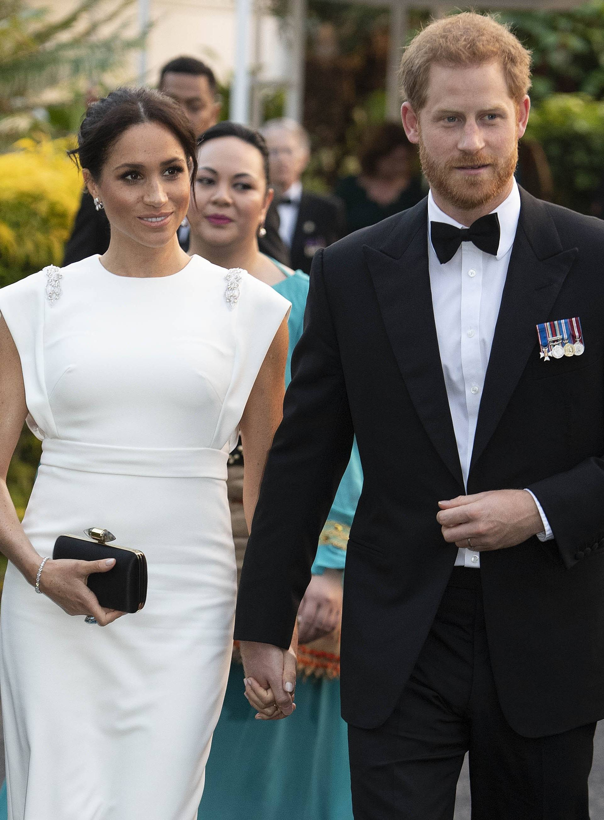 Royal tour of Tonga - Day One