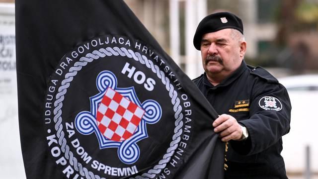 Pripadnici HOS-a zbog kojih je predsjednik Milanović napustio obilježavanje VRO Maslenica