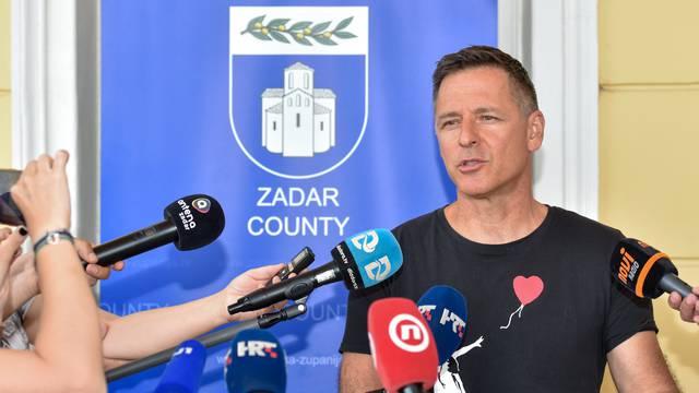Zadar: Konferencija za medije o tenisačima pozitivnim na COVID-19