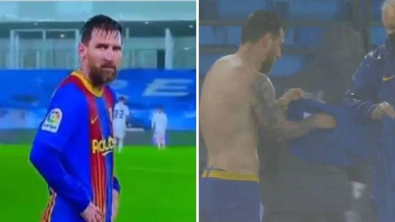 Messi se tresao od hladnoće