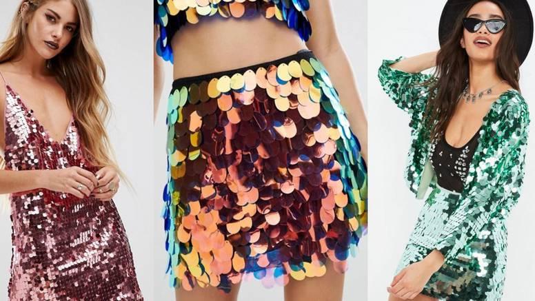 Blistave ljuskice: Party odjeća za one koji vole stilsku zabavu