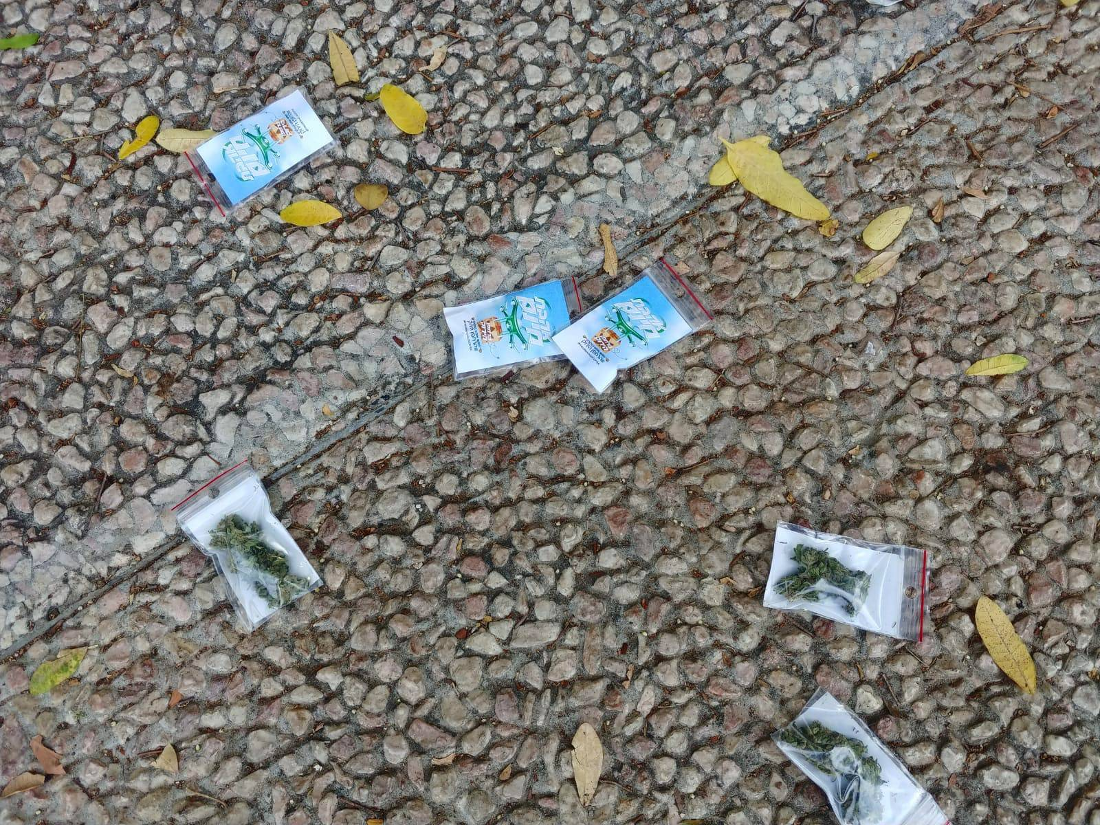 A high from on high? Drone drops weed baggies over Tel Aviv