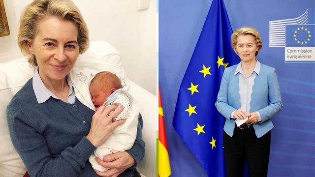 Ursula von der Leyen prvi put postala baka: Dobila je unučicu