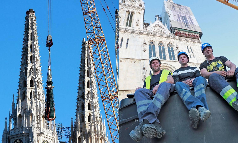 'Mi smo spustili dio Katedrale, kakav je osjećaj? Uh, poseban'