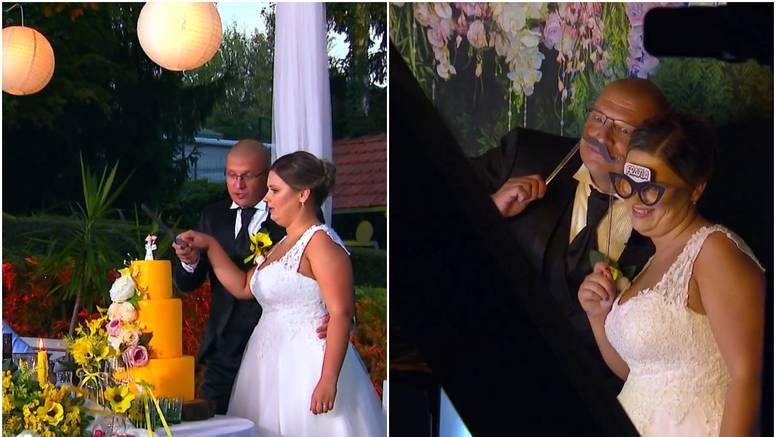 Tomislav i Kristina rezali tortu, fotografirali se, a on zaplesao s njenom mamom i svidio joj se