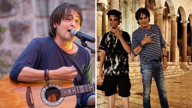 Vlado Kalember sa sinom ljetuje u Splitu: 'Rock&roll sin i tata'