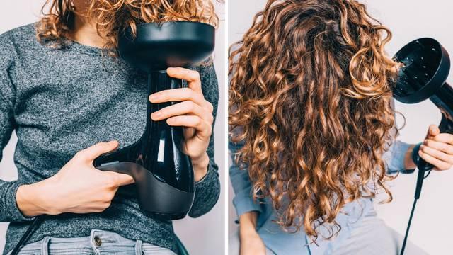 Savršene kovrče: Savjeti kako koristiti difuzor na fenu za kosu