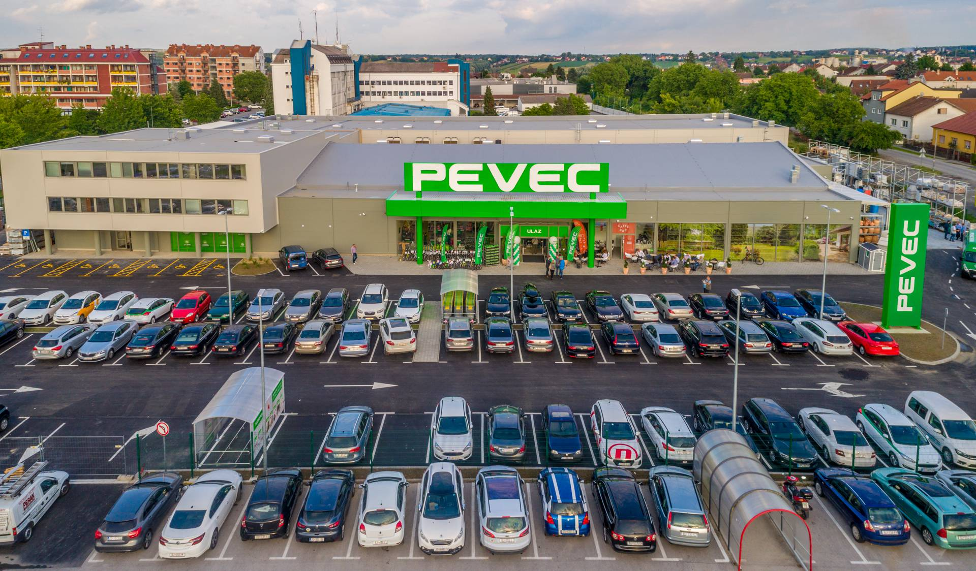 PEVEC otvorio novouređeni prodajni centar u Bjelovaru