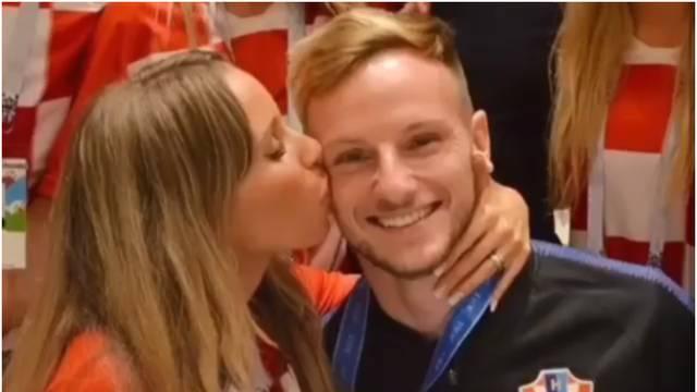 Romantična Raquel podržala je Rakitića: 'Ponosna sam na tebe'