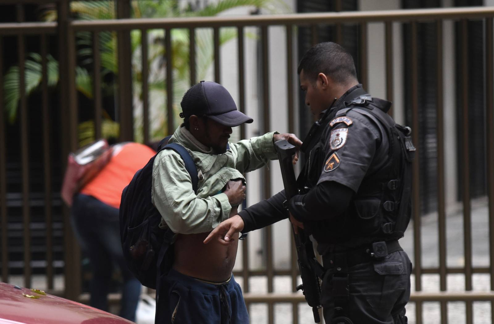 Security forces in Brazil