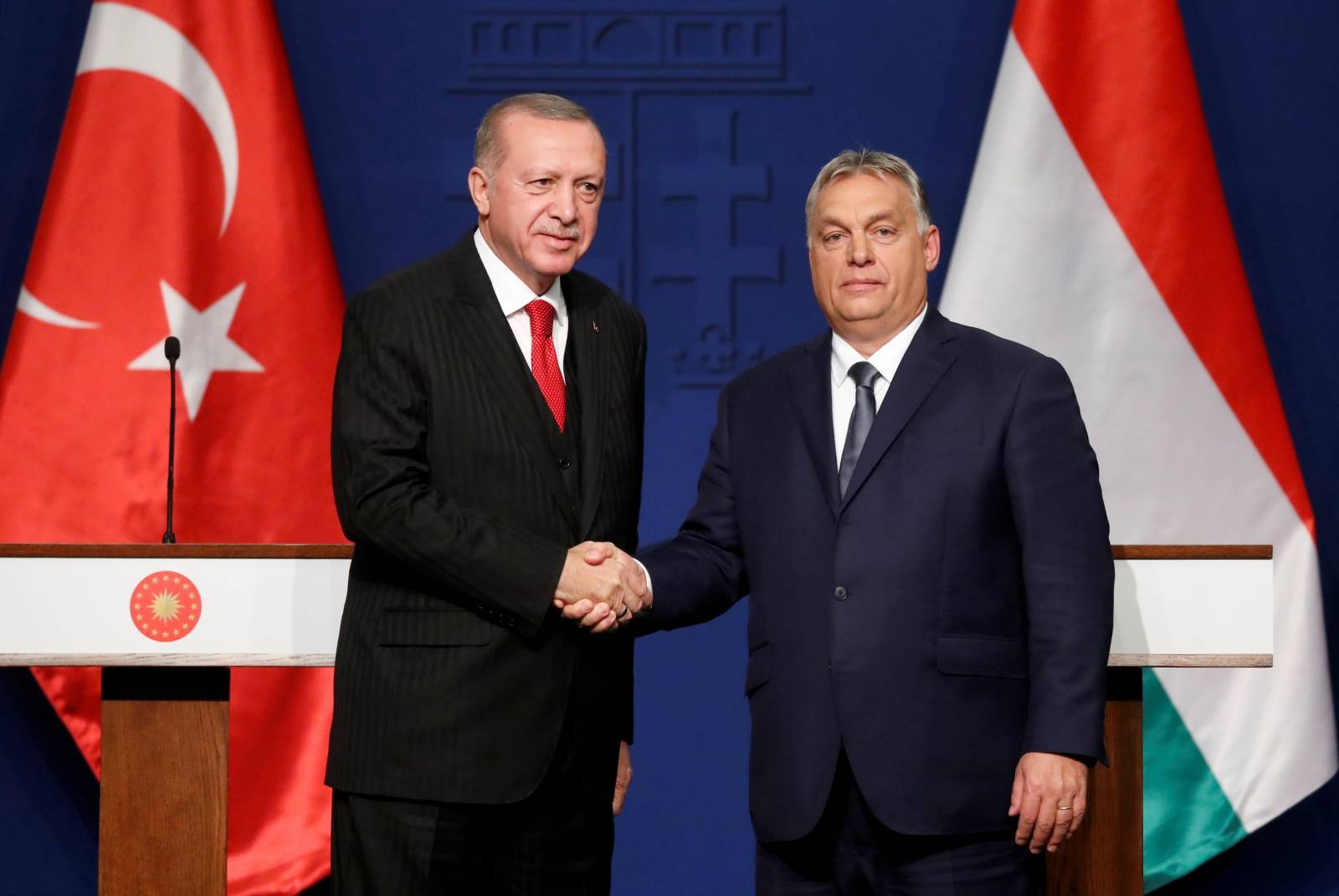 Turkish President Recep Tayyip Erdogan visits Hungary