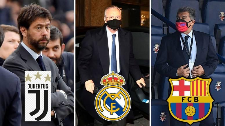 Vapaj Reala, Barce i Juventusa: 'Nedopustivo je što nam radite'